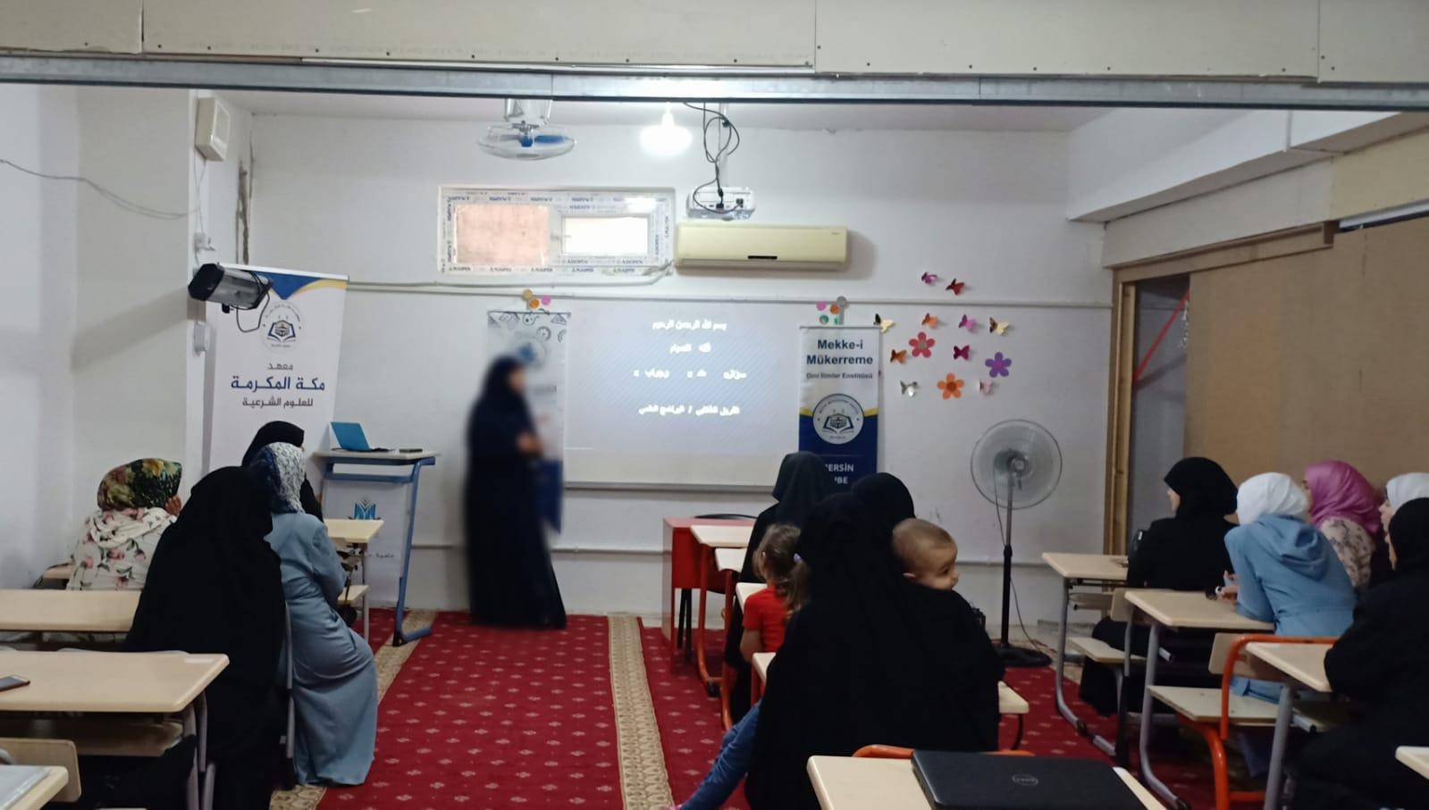 الفريق الطلابي في فرع مرسين  يقيم جولات دعوية رمضانية