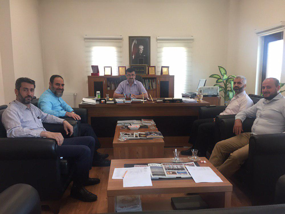 عميد المعهد يزور نائب مفتي ولاية عنتاب التركية