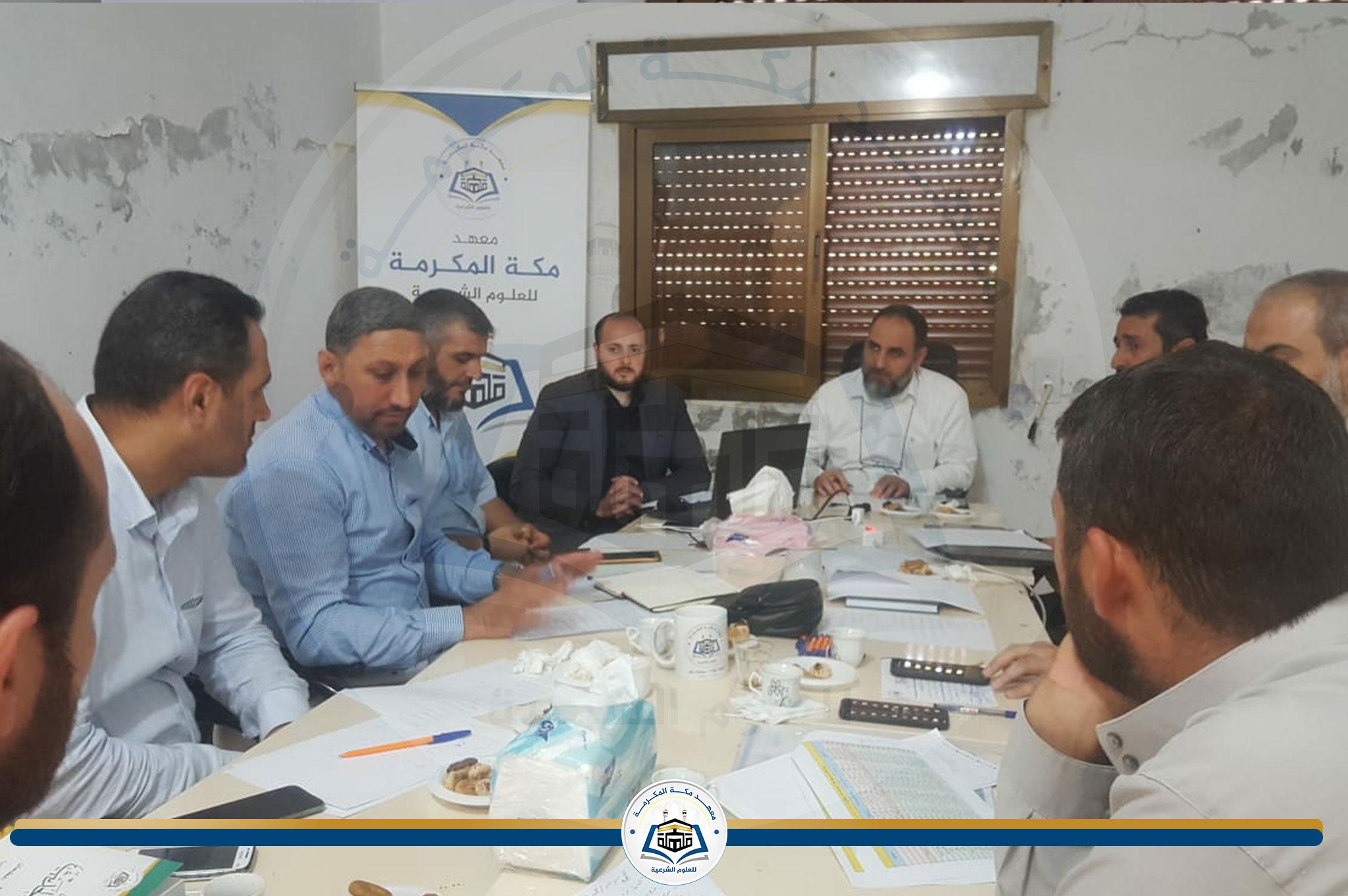 عميد المعهد يزور الشمال السوري المحرر ويلتقي بمديري فروع سوريا